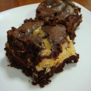 Baileys® Chocolate and Cream Cheese Brownies