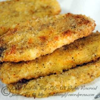 Baked Chicken Cutlet… Again!