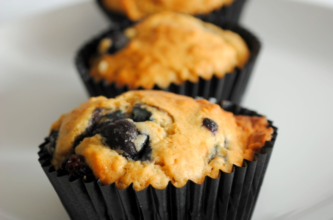 Perfect-Oh-Perfect Blueberry Muffins