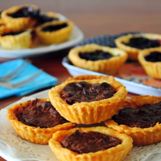 Nutty Nutella Tarts
