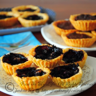 Berry Blueberry Tarts