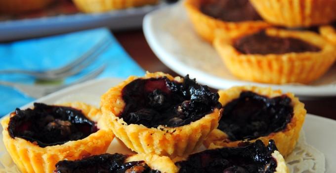 Berry Blueberry Tarts