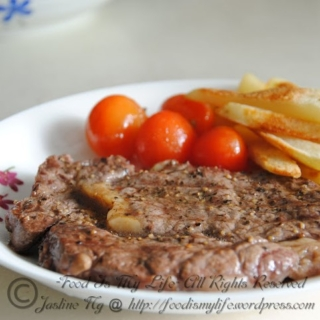 Easy Grilled Steak