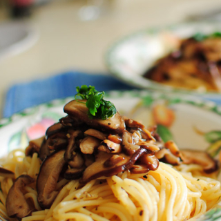 Mushrooms Aglio Olio