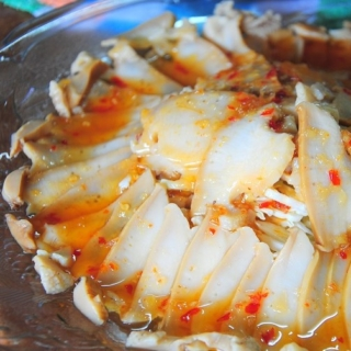 Cold Abalone Slices with Sweet and Spicy Sauce + Awards