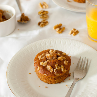 Honey Walnut Mini Cakes