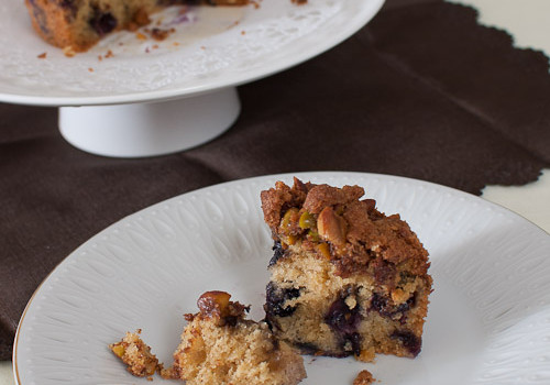 The Home Bakers #3: Blueberry Streusel Coffee Cake