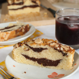The Home Bakers #5: Almond Crusted Chocolate Butter Cake