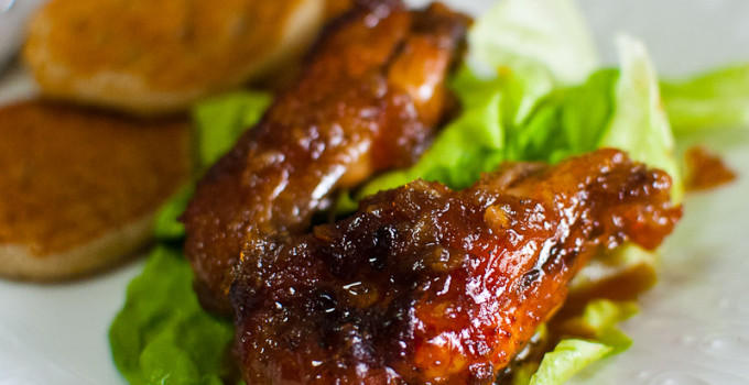 Baked Cola Chicken Wings