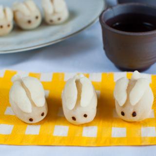 Mini Bunny Snowskin Mooncakes