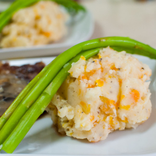 Easy Potato-Carrot Mash