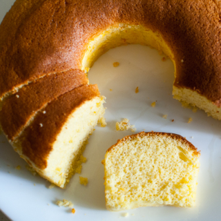 The Home Bakers #15: Orange Sponge Cake