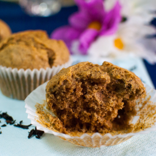 The Home Bakers #16: Black Tea-Lemon Cornmeal Cupcakes