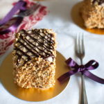 Devil's Chocolate Cake with Peanut Butter & Jam
