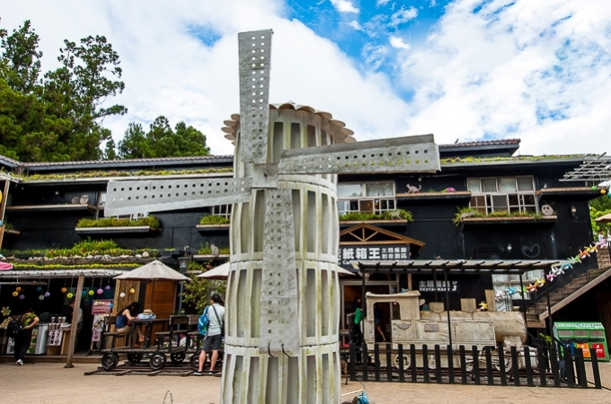 Carton King and Small Swiss Garden in Cingjing, Taiwan