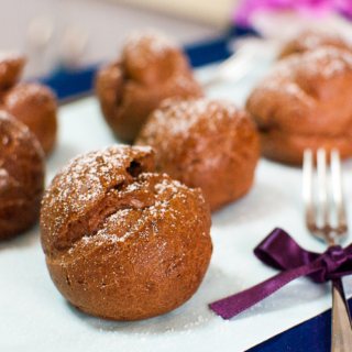 Choux Party: Double Chocolate Cream Puffs