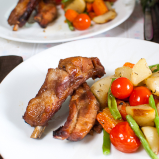 Baked Maple Ribs (Nigella)