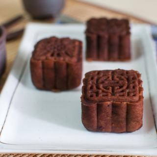 Baileys Chocolate Snow Skin Mooncakes
