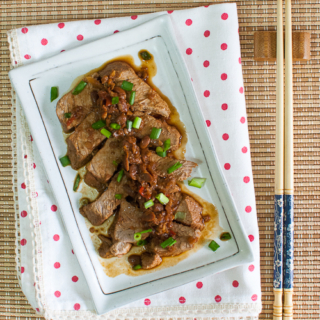 Tau Cheo Pork (Braised Pork in Salted Bean Paste)