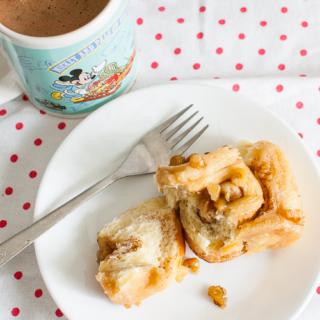 THB #27: Sticky Caramel Pinwheel Bread
