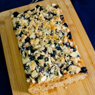 THB #32: Blueberry-Almond Coffee Cake