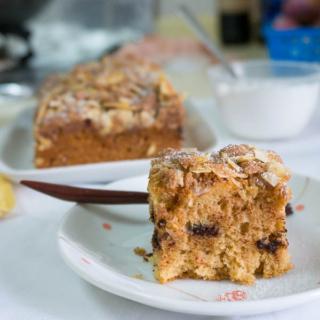 THB #35: Almond Streusel Baileys Cake