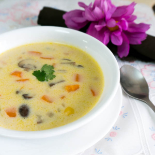 Wholesome Creamy Vegetable Chowder