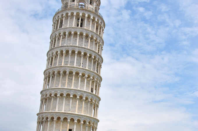 The Leaning Tower of…