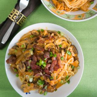 Guest Post: Creamy Kimchi Pasta