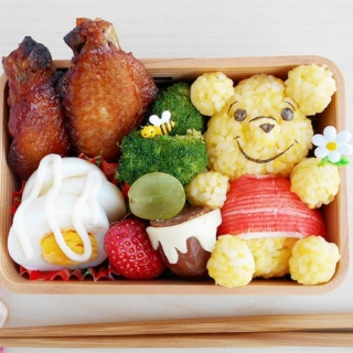 Guest Post – Winnie the Pooh Bento