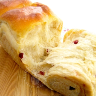 Guest Post – Soft and Pillowy Cranberry Bread