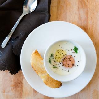 Oeuf en Cocotte (Egg Baked in Ramekin)