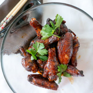 Braised Soy Sauce Chicken Wings