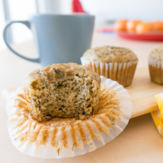 No-Mixer Banana Muffins