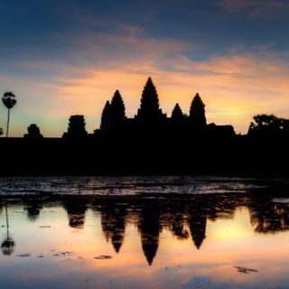 Sunrise at Angkor Archaeological Park, Siem Reap, Cambodia – Day 2 (Last Day)