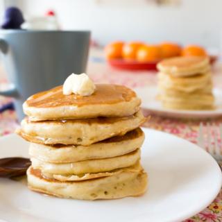 Vanilla Buttermilk Pancakes