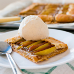 Apple and Peanut Butter Galette