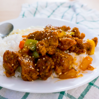 Sweet and Sour Pork (Gu Lou Yok / 咕噜肉)