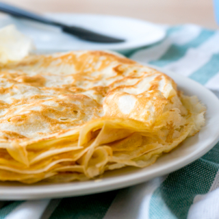 Julia Child's Basic Crêpes Recipe (For Both Savoury and Sweet)