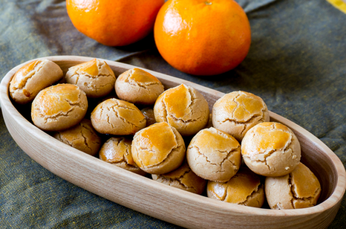 Chinese Peanut Butter Cookies [Chinese New Year Goodie]