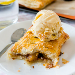 Baked Puff Pastry Apple Pies