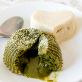 Matcha Lava Cake for One or Two in 30 Minutes