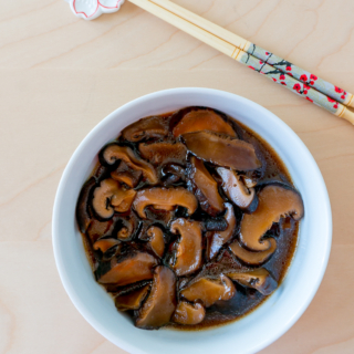Chinese Braised Mushrooms