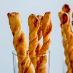 Garlic parmesan twists