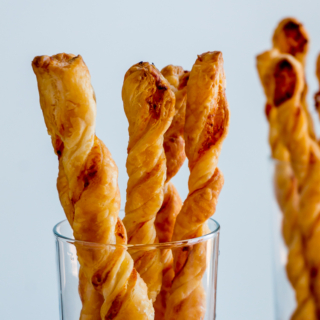 Garlic Parmesan Twists