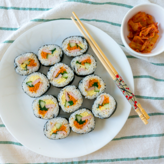 Gimbap (김밥) [And How to Revive a Day's Old Gimbap!]