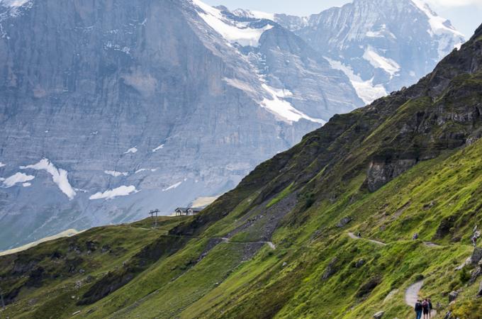Switzerland Travelogue: Männlichen, Panorama Trail Hike and Top of Europe, Jungfraujoch