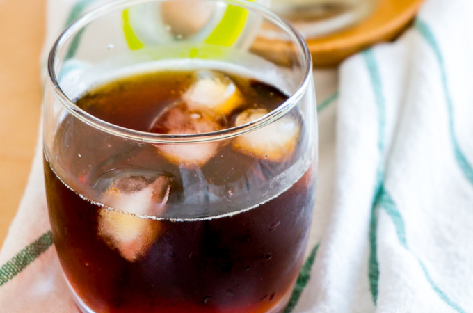 Easy Cold-Brewed Coffee [Two Steps Only, That's It!]