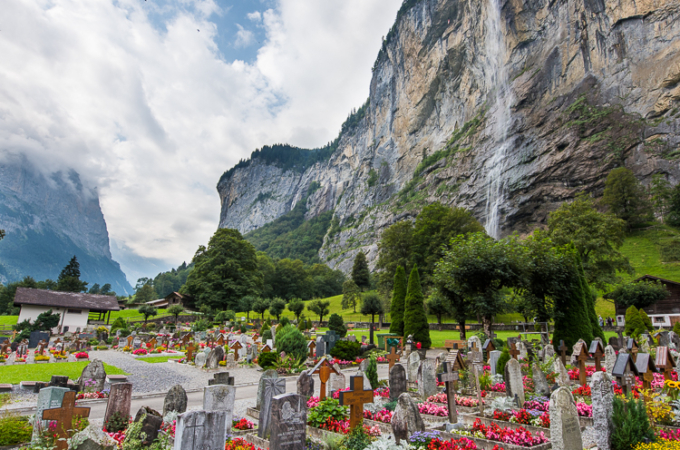 Switzerland Travelogue: Lauterbrunnen Nordic Walking Trail, Top of Family Mürren, Harder Kulm