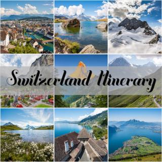 Switzerland Itinerary – August 2016, 9 Days